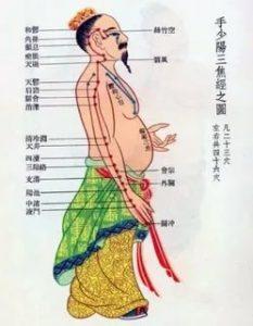 китайская медицина меридианы