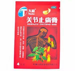 китайский перцовый пластырь
