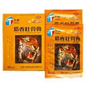 китайский пластырь тигр инструкция